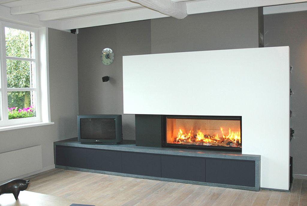 atre design var chemin es po les inserts installation d 39 insert bois de grande taille sur. Black Bedroom Furniture Sets. Home Design Ideas