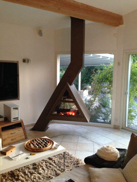 → Atre Design Var cheminées - poêles - inserts - Une cheminée métal ...